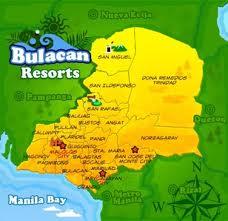 Bulacan Resorts Map