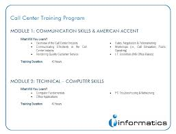 call center training module - Khafre