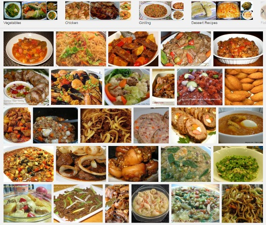 Filipino recipes philippines food local menu for dining and diet complete filipino recipes categorized according to main ingredient forumfinder Images