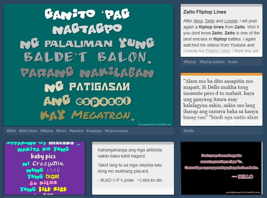 filipino fliptop lines best new tagalog flip top line