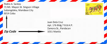 Zip Code Location in Mails