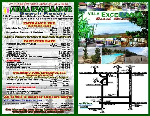 Villa Excellance - Beach Resort in Tanza, Cavite